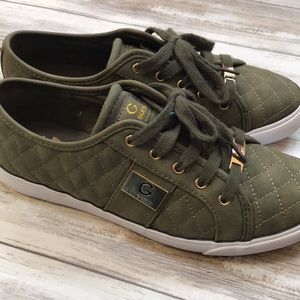 🍁🍂Army Green Olive Soft Sneakers Fall  Flats